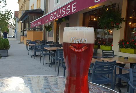 Bière / IPA à La Bousse, Restaurant à Morteau