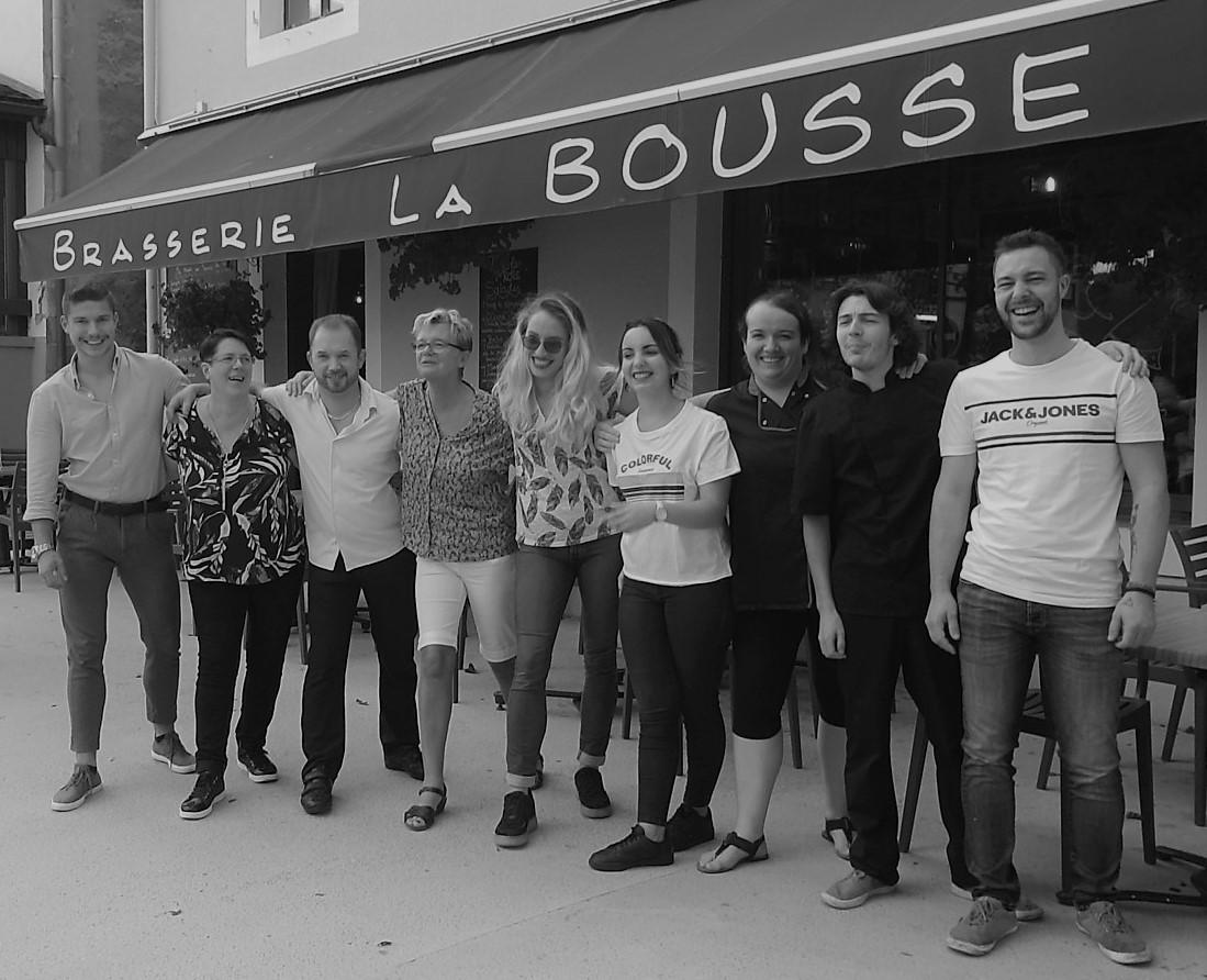 L'équipe de la Bousse à Morteau